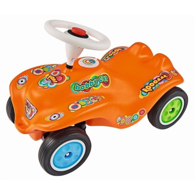 Obrázek produktu Odstrkovadlo auto BIG BOBBY CAR POP oranžové