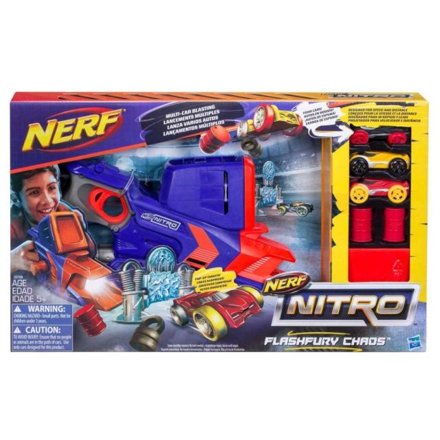 Obrázek produktu NERF Nitro Flashfury Chaos, Hasbro C0788
