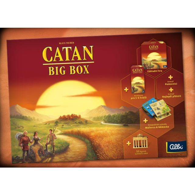 Obrázek produktu ALBI Catan Big Box - druhá edice