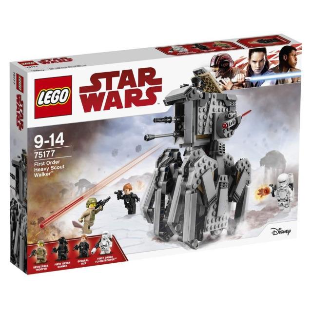 Obrázek produktu LEGO Star Wars 75177 Těžký průzkumný chodec Prvního řádu