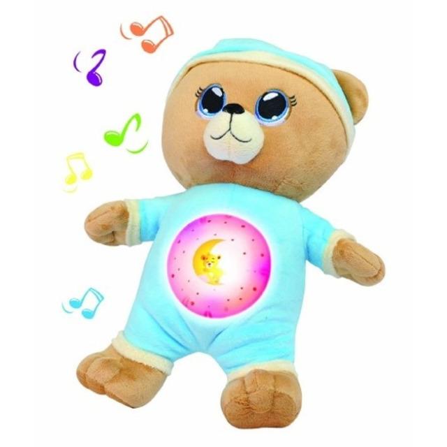 Obrázek produktu Usínáček medvídek modrý, světlo zvuk