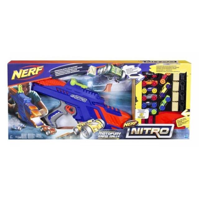 Obrázek produktu NERF Nitro Motofury Rapid Rally, Hasbro C0787