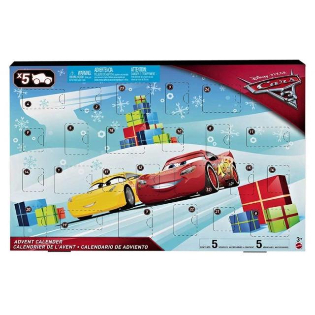 Obrázek produktu Adventní kalendář Cars 3, Mattel FGV14