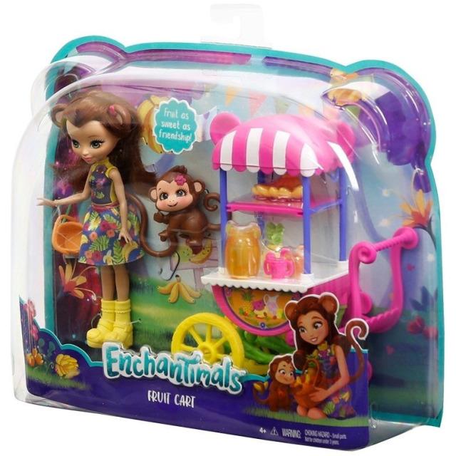 Obrázek produktu ENCHANTIMALS Pojízdný obchod s ovocem, Mattel FCG93