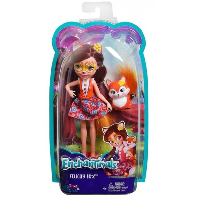 Obrázek produktu ENCHANTIMALS Panenka se zvířátkem Felicity Fox, Mattel DVH89