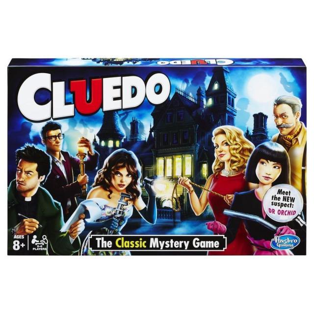 Obrázek produktu Hasbro Cluedo společenská detektivní hra CZ