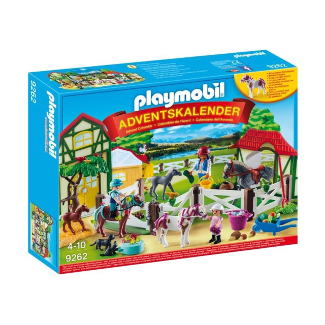 Obrázek produktu Playmobil 9262 Adventní kalendář Koňská farma