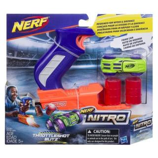 Obrázek 1 produktu NERF NitroThrottleshot Blizt zelené vozidlo, Hasbro C0781
