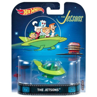 Obrázek 1 produktu Hot Wheels Kultovní angličák The Jetsons, Mattel FRF24