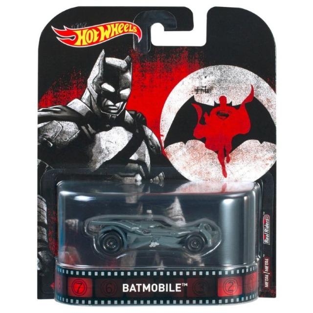 Obrázek produktu Hot Wheels Kultovní angličák Batmobile, Mattel DWJ91