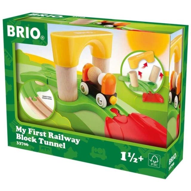 Obrázek produktu BRIO 33706 Můj první tunel k vláčkodráze