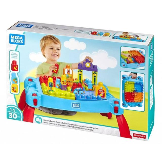 Obrázek produktu Mega Bloks First Builders Pracovna malého stavitele, Mattel FGV05