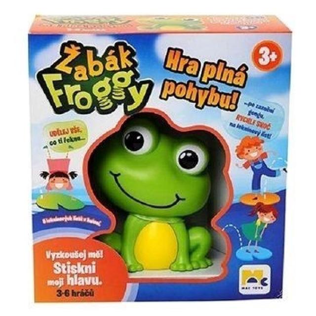 Obrázek produktu Žabák Froggy, zábavná pohybová hra