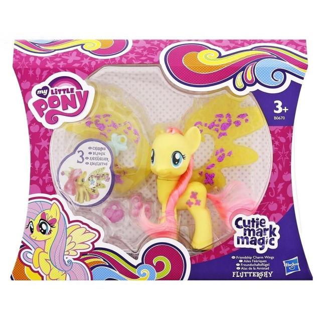 Obrázek produktu MLP My Little Pony Fluttershy s ozdobenými křídly