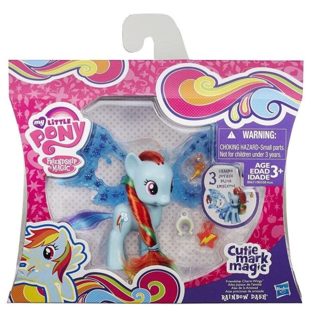 Obrázek produktu MLP My Little Pony Rainbow Dash s ozdobenými křídly