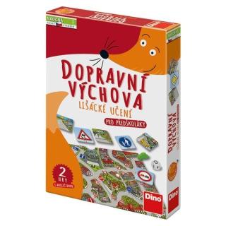 Obrázek 1 produktu Naučná hra DOPRAVNÍ ZNAČKY, Dino