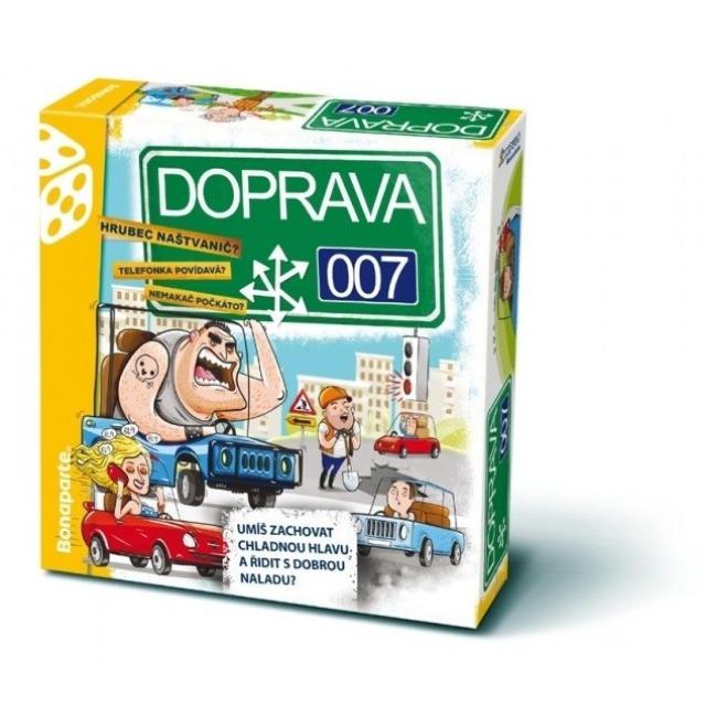 Obrázek produktu DOPRAVA 007, rodinná společenská hra Bonaparte
