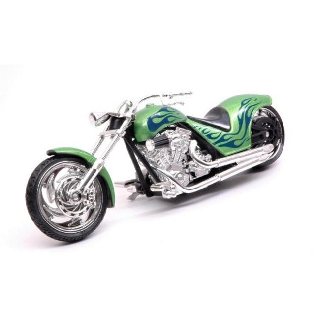 Obrázek produktu Motorka Iron Choppers 15cm zelená