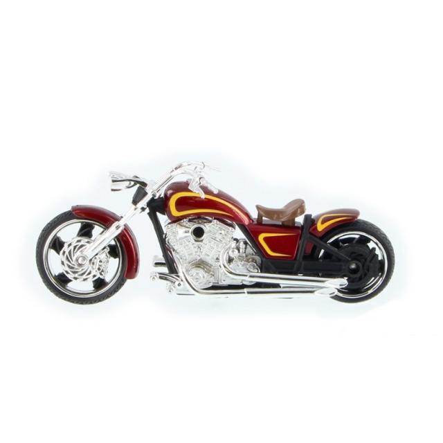 Obrázek produktu Motorka Iron Choppers 15cm červená