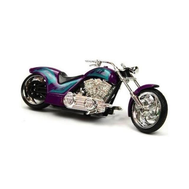 Obrázek produktu Motorka Iron Choppers 15cm fialová
