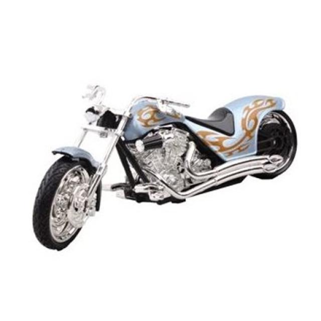 Obrázek produktu Motorka Iron Choppers 15cm modrá