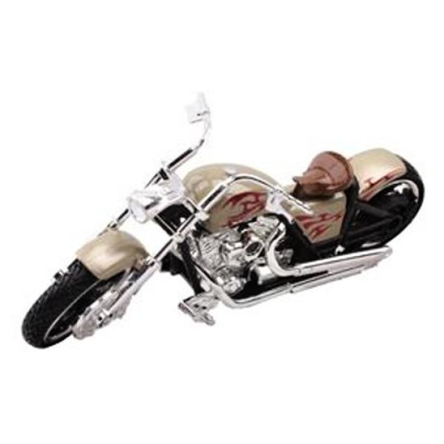 Obrázek produktu Motorka Iron Choppers 15cm zlatá