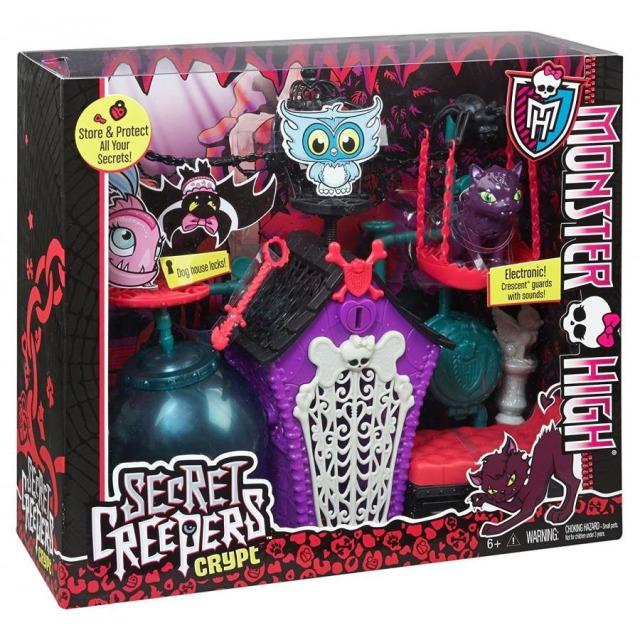 Obrázek produktu Monster High Hrací set pro tajné poznámky