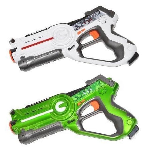 Obrázek produktu Territory duopack 2 laserové pistole bílá-zelená