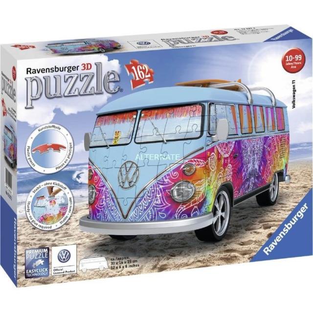 Obrázek produktu Ravensburger 12527 Puzzle 3D VW autobus Indian Summer 162 dílků
