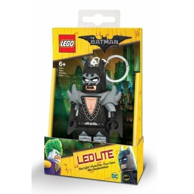 Obrázek produktu Lego LED klíčenka Batman Movie GLAM ROKER BATMAN, 7 cm