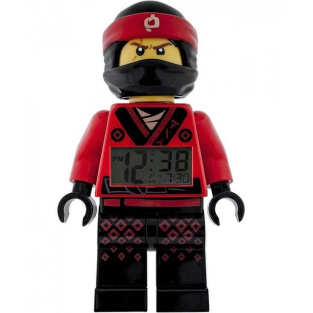 Obrázek produktu LEGO Ninjago Movie hodiny s budíkem Kai
