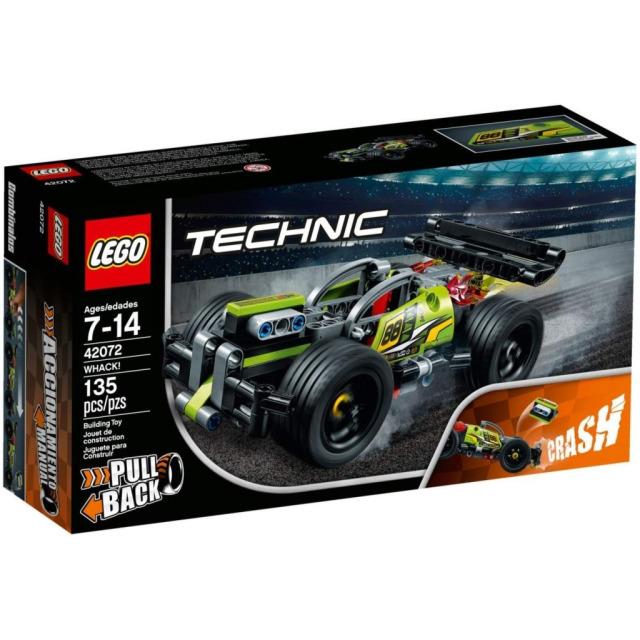 Obrázek produktu LEGO TECHNIC 42072 Zelený závoďák