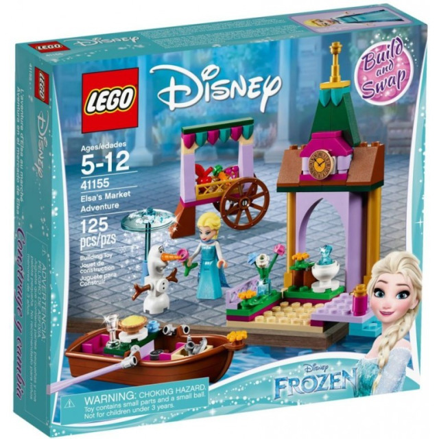 Obrázek produktu LEGO Disney 41155 Elsa a dobrodružství na trhu