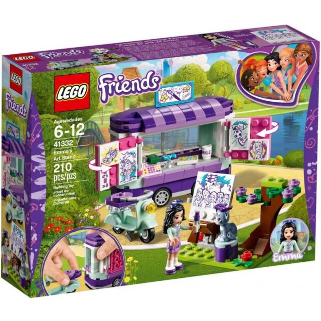 Obrázek produktu LEGO Friends 41332 Emma a umělecký stojan