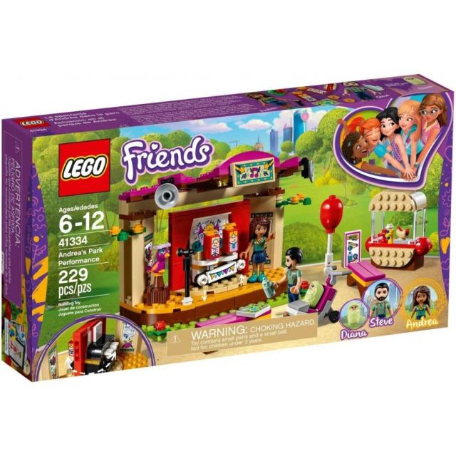 Obrázek produktu LEGO Friends 41334 Andrea a její vystoupení v parku