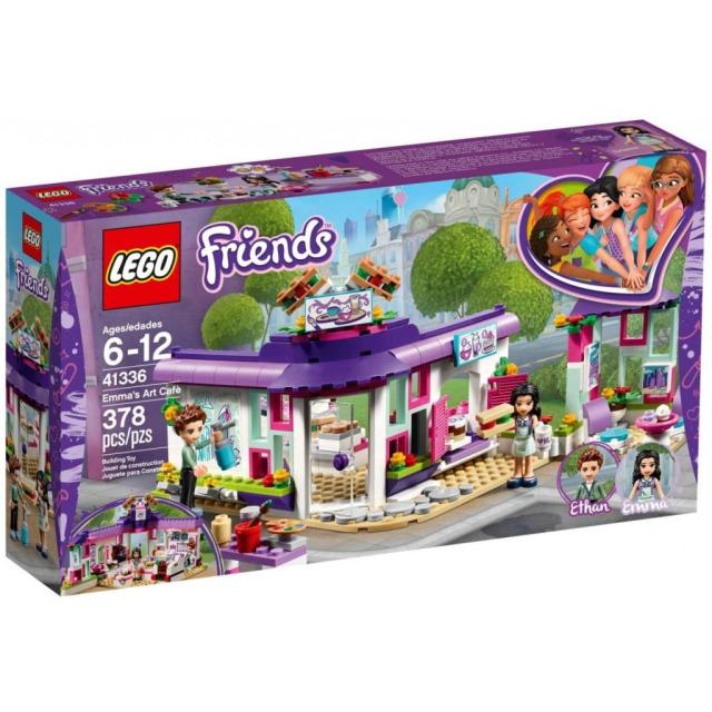 Obrázek produktu LEGO Friends 41336 Emma a umělecká kavárna