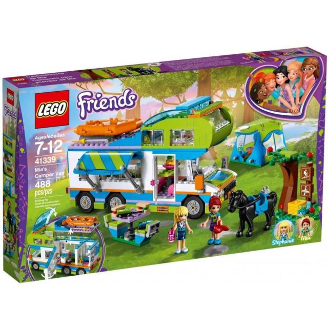 Obrázek produktu LEGO Friends 41339 Mia a její karavan
