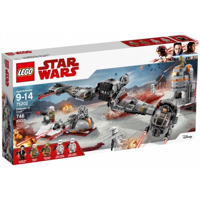 Obrázek produktu LEGO Star Wars 75202 Obrana planety Crait™