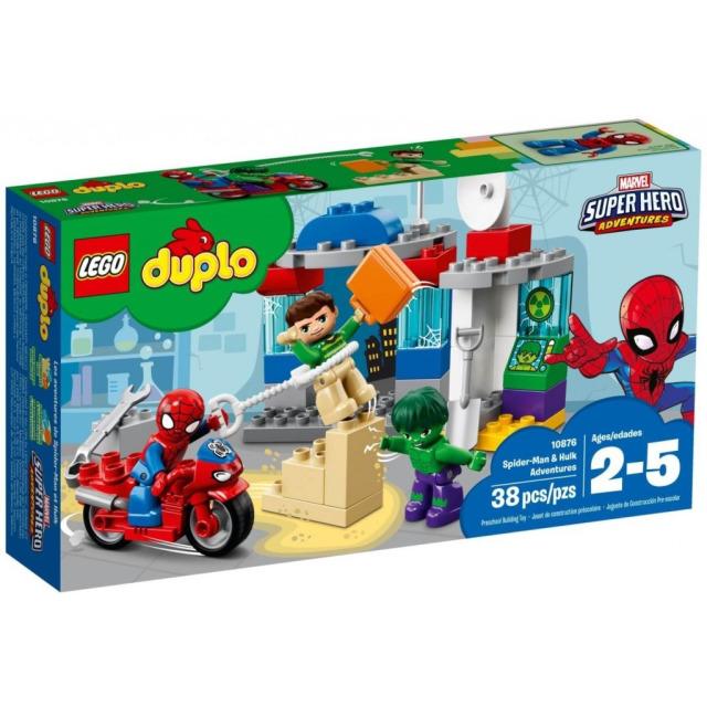 Obrázek produktu LEGO DUPLO 10876 Dobrodružství Spider-Mana a Hulka