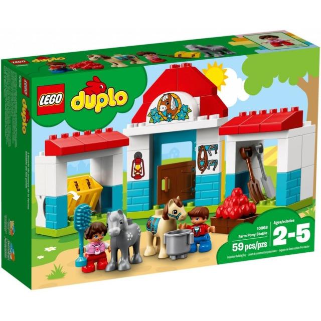 Obrázek produktu LEGO DUPLO 10868 Stáje pro poníka