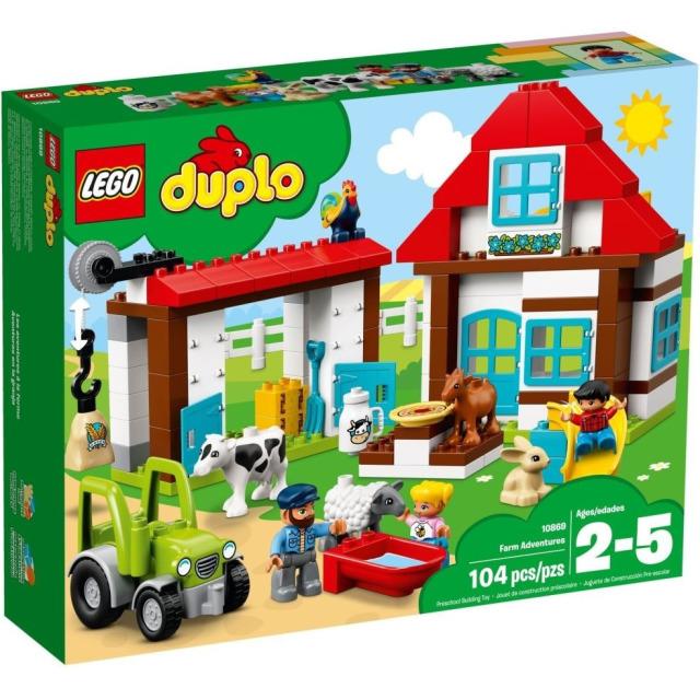 Obrázek produktu LEGO DUPLO 10869 Dobrodružství na farmě