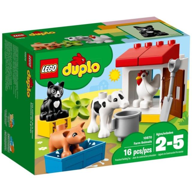 Obrázek produktu LEGO DUPLO 10870 Zvířátka z farmy