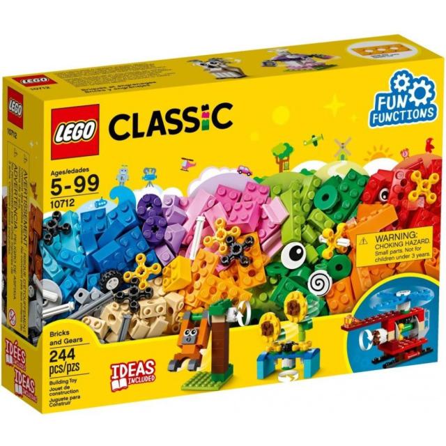 Obrázek produktu LEGO Classic 10712 Kostky a ozubená kolečka