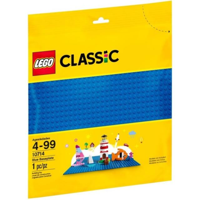 Obrázek produktu LEGO Classic 10714 Modrá podložka na stavění