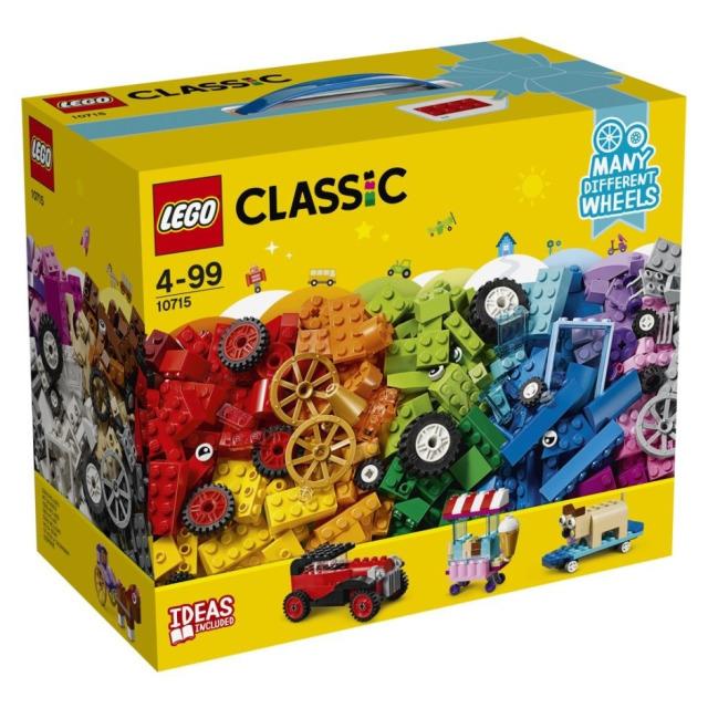 Obrázek produktu LEGO Classic 10715 Kostky na kolečkách
