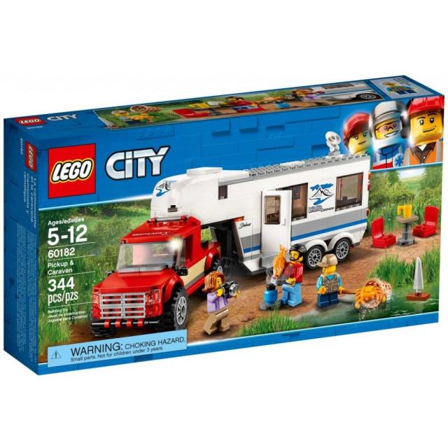 Obrázek produktu LEGO CITY 60182 Pick-up a karavan
