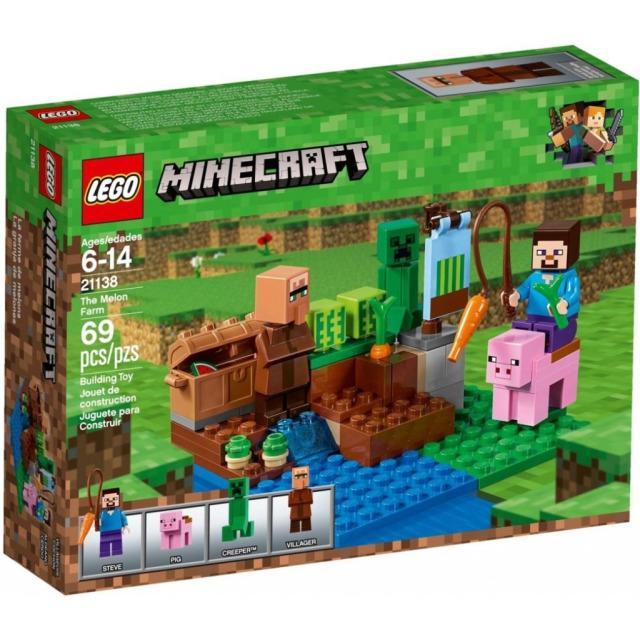 Obrázek produktu LEGO Minecraft 21138 Melounová farma, Rarita!