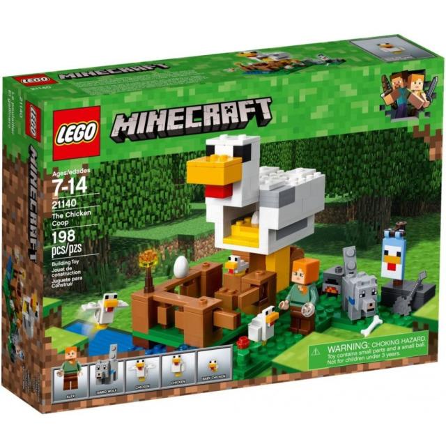 Obrázek produktu LEGO Minecraft 21140 Kurník
