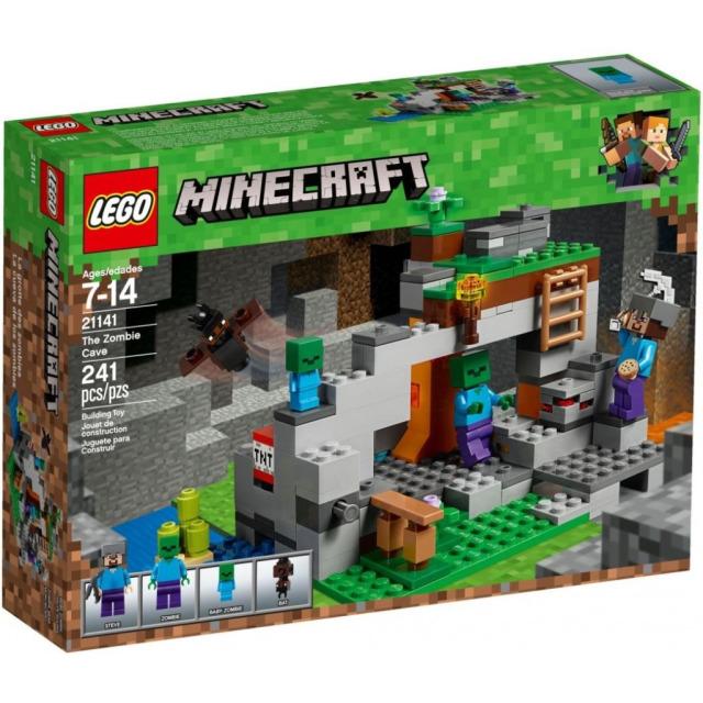 Obrázek produktu LEGO Minecraft 21141 Jeskyně se zombie