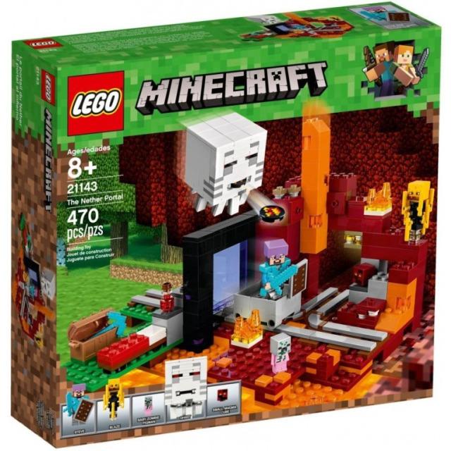 Obrázek produktu LEGO Minecraft 21143 Podzemní brána